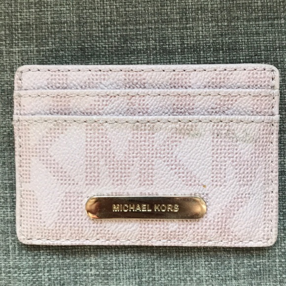 Michael Kors Handbags - 1 HR SALE Michael Kors Pink ID Wallet